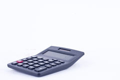 Calculator for calculating the numbers accounting accountancy business  on white background  Stock Images
