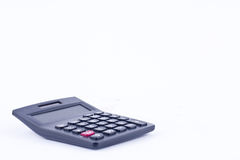 Calculator for calculating the numbers accounting accountancy finance business calculation  on white background  isolated Royalty Free Stock Photos