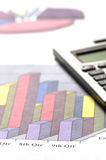 Calculator & Charts Royalty Free Stock Photography