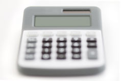 Calculator - clean display Stock Photos