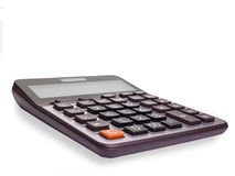 Calculator. clipping path. Calculator , isolated on white background. clipping path Stock Photos