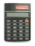 Calculator (close up). On white background - isolated Royalty Free Stock Image