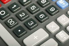 Calculator close-up Stock Photos