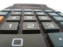 Calculator Close Up Macro Stock Images