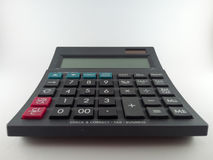 Calculator. Closed calculator on white background Royalty Free Stock Photography