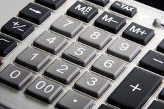 Calculator closeup royalty free stock photography