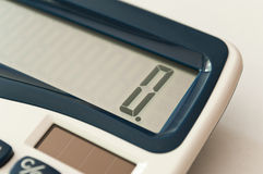 Calculator closeup Royalty Free Stock Photo