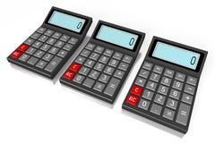 Calculator concept Royalty Free Stock Photos