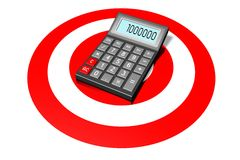 Calculator concept Royalty Free Stock Images