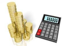 Calculator concept Stock Photography
