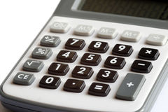 Calculator - counting of the financial position Royalty Free Stock Photography