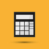 Calculator design. Financial item concept. Colorful design. Calculator concept with icon design,  illustration 10 eps graphic Royalty Free Stock Photo