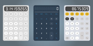 Calculator design vector illustration template Stock Photography