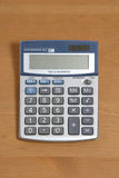 Calculator on Desk Royalty Free Stock Photo