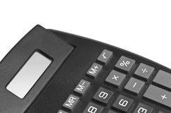 Calculator Detail Royalty Free Stock Photography