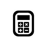Calculator device isolated Royalty Free Stock Photo