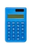Calculator die met het knippen van weg wordt geïsoleerde Stock Foto's