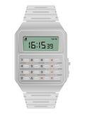 Calculator digital watch Stock Photo