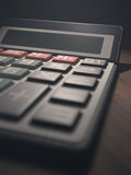 Calculator Display Blank Royalty Free Stock Images