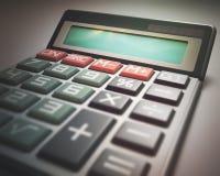 Calculator Display Blank Stock Image