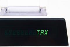 Calculator Display -  Tax Stock Photos