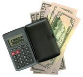 Calculator with dollar Stock Photo