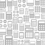 Calculator een achtergrond Stock Foto