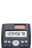 Calculator Figures Royalty Free Stock Photo