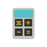 Calculator finance objetc office. Illustration eps 10 Royalty Free Stock Image