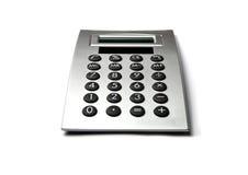 Calculator. Gray Calculator  isolated on white Stock Photo