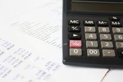 Calculator Help Stock Photography