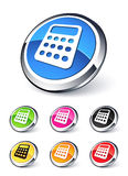 Calculator icon Stock Image
