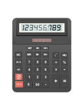 Calculator icon. Isolated on white background, vector Stock Image