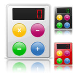 Calculator icon Stock Images