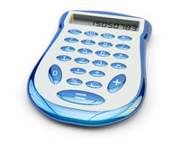Calculator icon, banking, finance and business concept Royalty Free Stock Photo