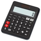 Calculator icon basic and simple for office use Royalty Free Stock Photos