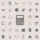 Calculator icon. Detailed set of Finance icons. Premium quality graphic design sign. One of the collection icons for websites, web. Design, mobile app on Royalty Free Stock Photography