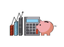 Calculator icon image Stock Photography