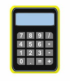 Calculator icon isolated Stock Image