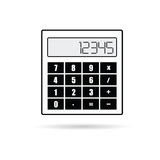Calculator icon vector Royalty Free Stock Photo