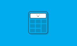 Calculator Icon Vector Concept Stock Photos