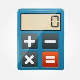 Calculator icon vector illustration Royalty Free Stock Photos