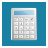 Calculator Icon Royalty Free Stock Photo