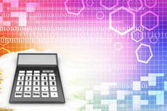 Calculator  Illustration Stock Photos