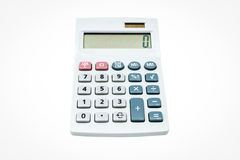Calculator isolate Stock Image