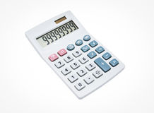 Calculator isolate Royalty Free Stock Images