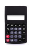 Calculator isolated. Calculator with empty display - isolated over white background Royalty Free Stock Photography