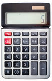 Calculator isolated Royalty Free Stock Image