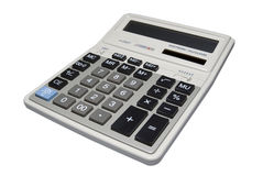 Calculator isolated with clipping path. Calculator isolated on white background with clipping path Stock Images