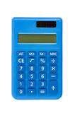 Calculator isolated with clipping path Stock Photos